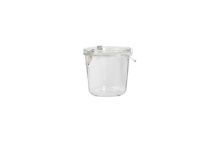 Sylteglas m/låg, clips og silikonering 440 ml